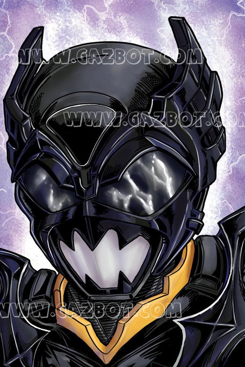 Power Rangers: In Space Psycho Black Ranger image 0