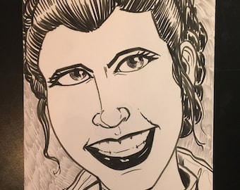 Princess Leia from star wars the empire strikes back