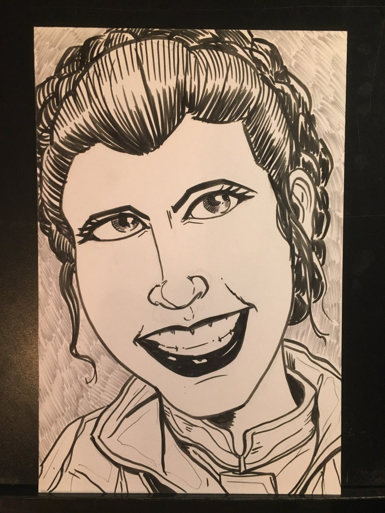 Princess Leia from star wars the empire strikes back image 1
