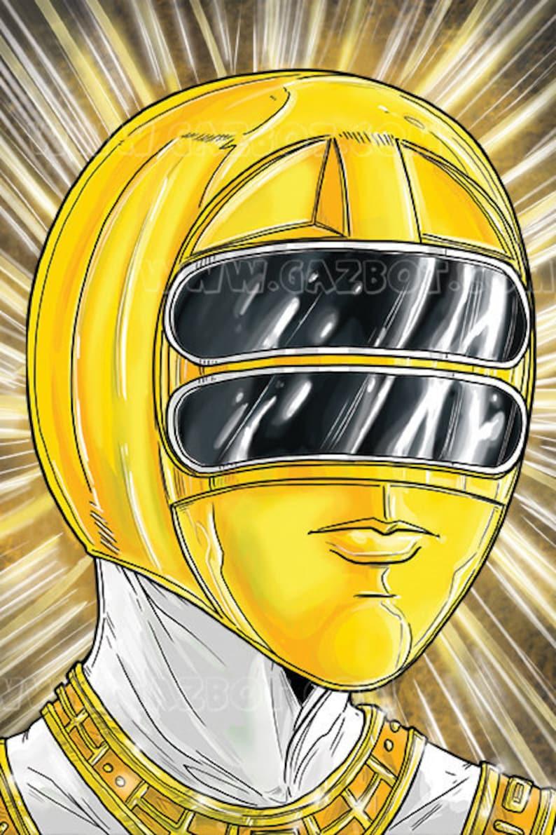 Power Rangers: Zeo Yellow Ranger image 1
