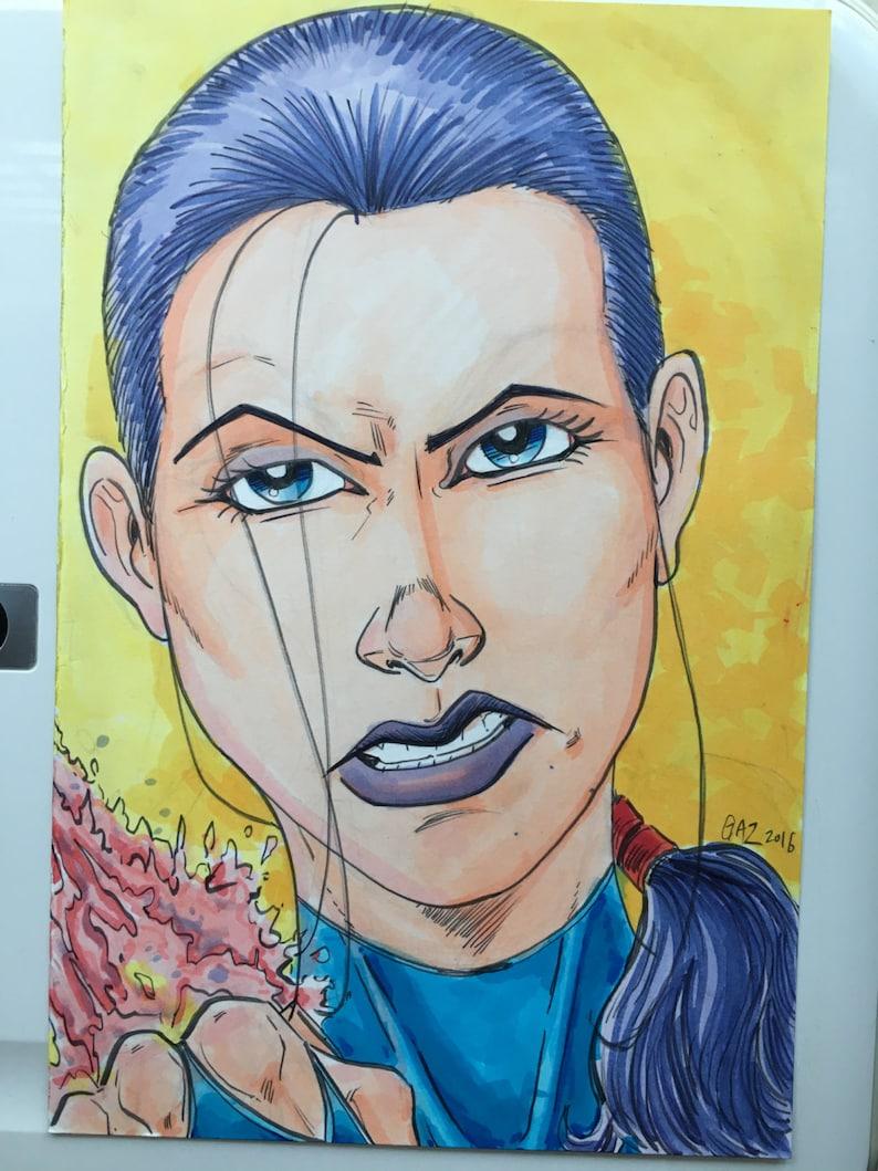 Psylocke AKA Betsy Braddock  ninja version X-men member from image 0
