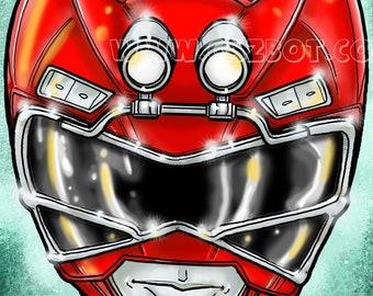 Power Rangers: Turbo Red Ranger