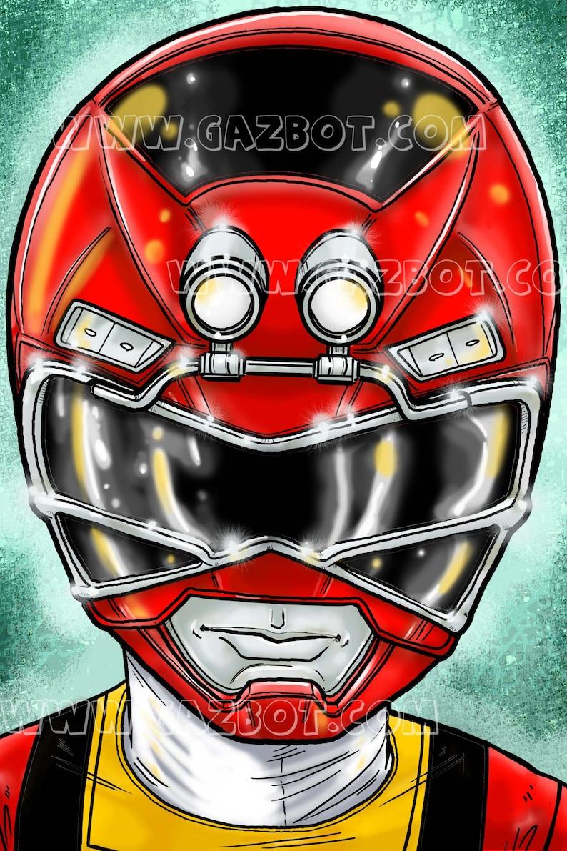 Power Rangers: Turbo Red Ranger image 1