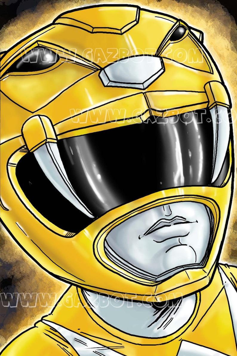 Power Rangers: MMPR  Yellow Ranger image 1