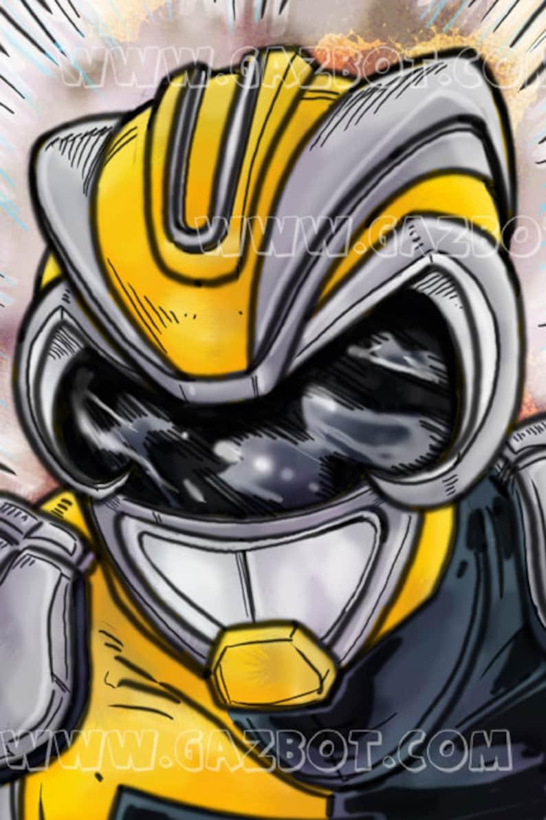 Power Rangers: HyperForce  HyperForce Yellow  Jack Thomas image 1