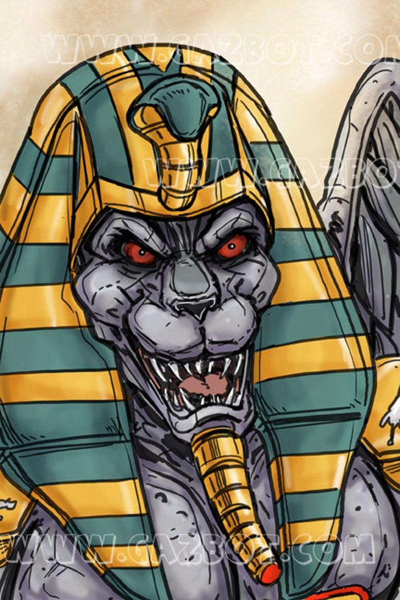 Power Rangers: Mighty Morphin  King Sphinx image 0
