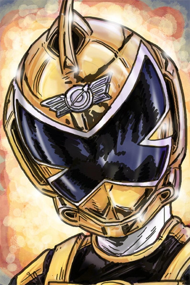 Power Rangers: RPM  Gold Ranger image 0