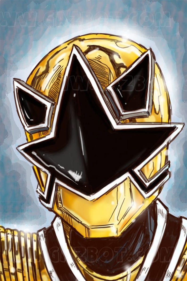 Power Rangers: Gold Ranger in Mega Mode image 1