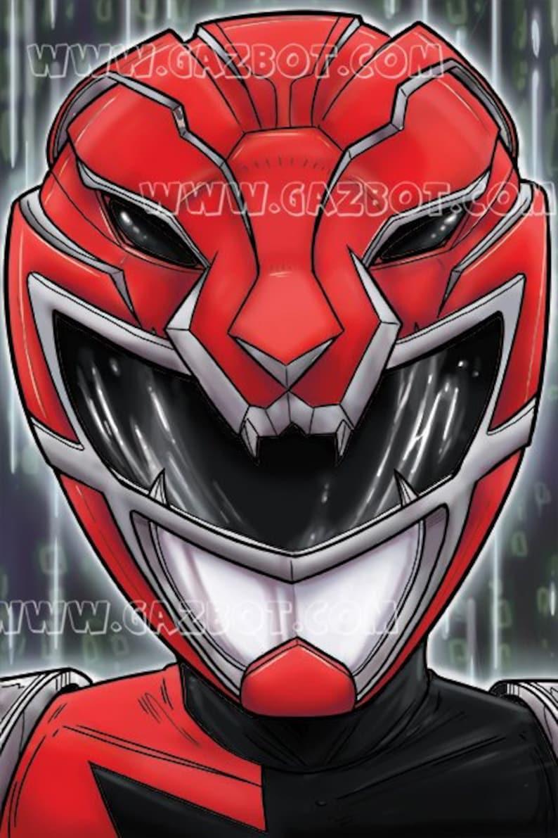 Power Rangers: HyperForce  HyperForce Red  Marvin image 0