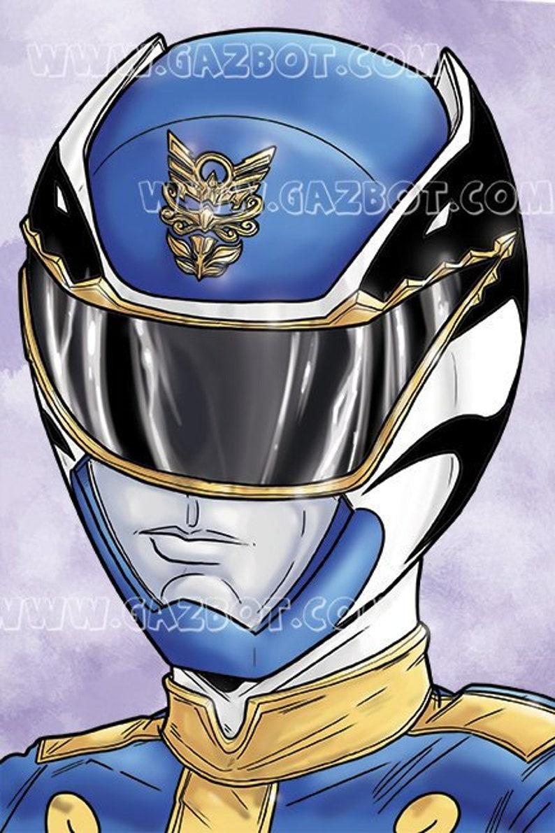 Power Rangers: Megaforce  Blue Ranger image 0