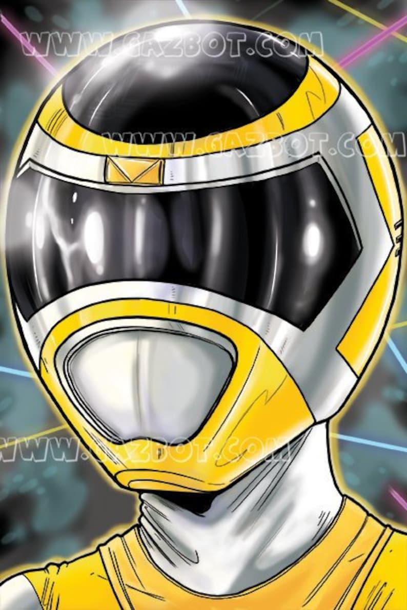Power Rangers: In Space Yellow Ranger image 0