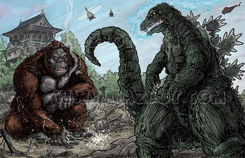 King Kong vs. Godzilla image 1