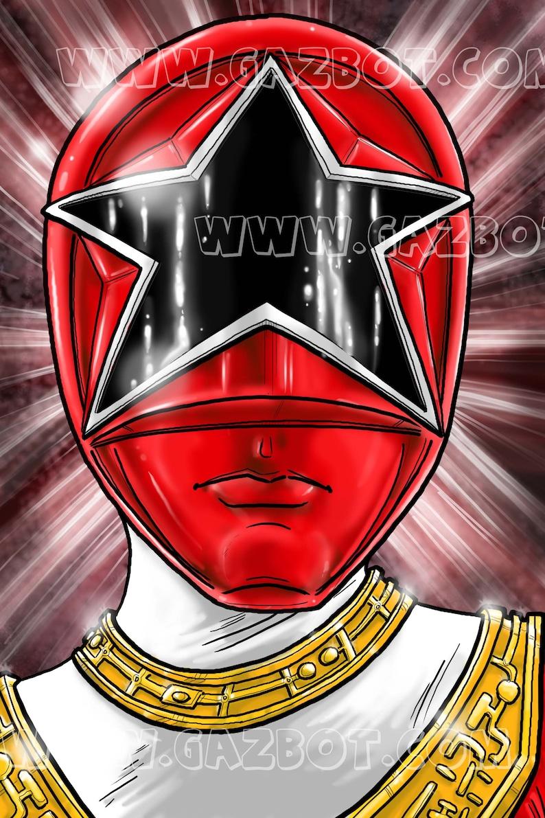 Power Rangers: Zeo Ranger V Red image 0
