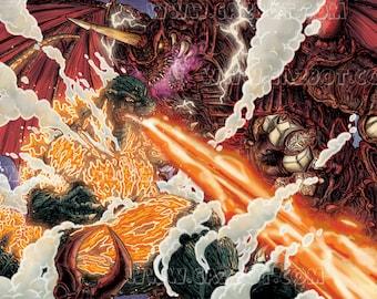 Destoroyah vs Godzilla