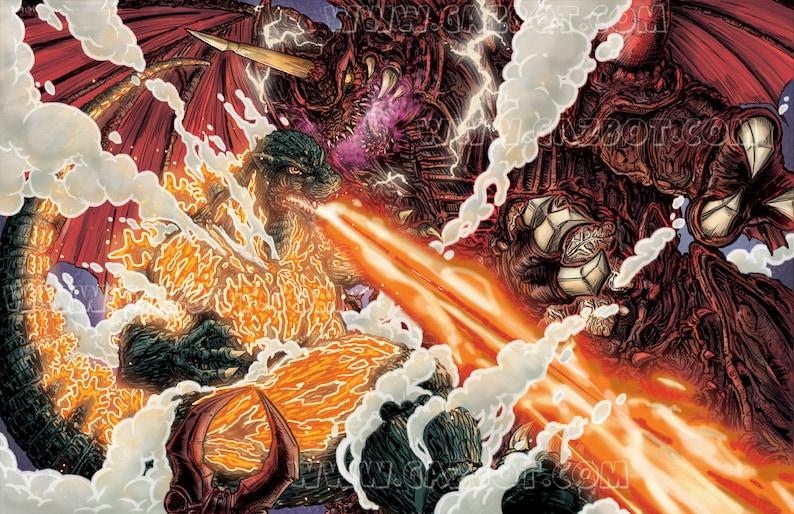 Destoroyah vs Godzilla image 0