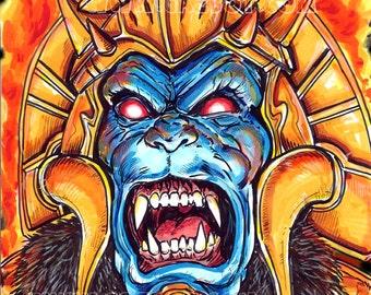 Mighty Morphin Power Rangers villain: Goldar AKA Kyoryu Sentai Zyuranger villain Griffizor