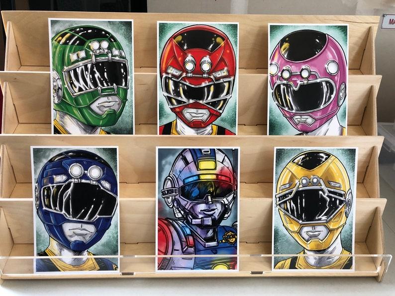 Power Rangers Turbo AKA Carranger  : set of 6 image 0