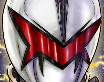 Power Rangers: Dino Thunder White