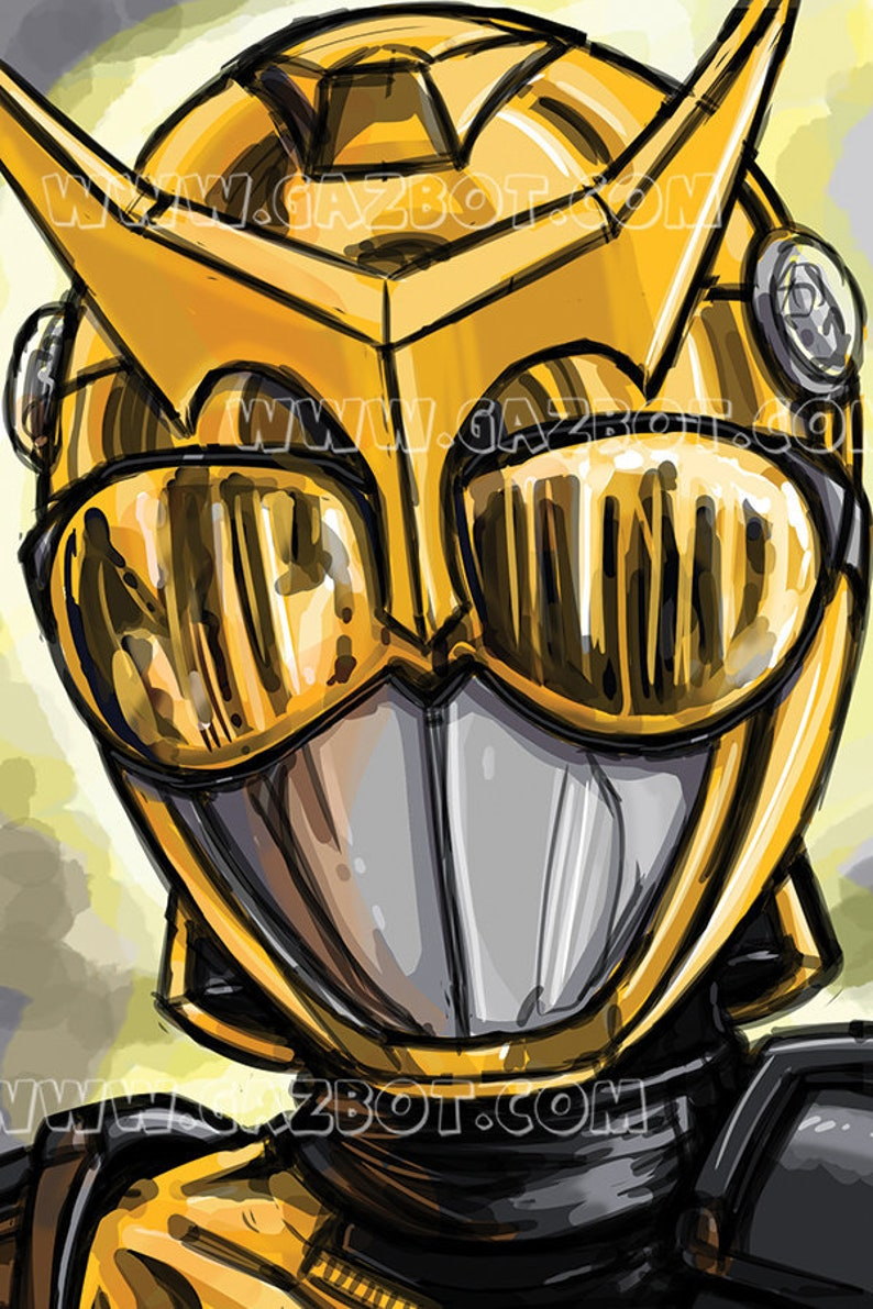 Power Rangers Beast Morphers Gold Ranger image 0