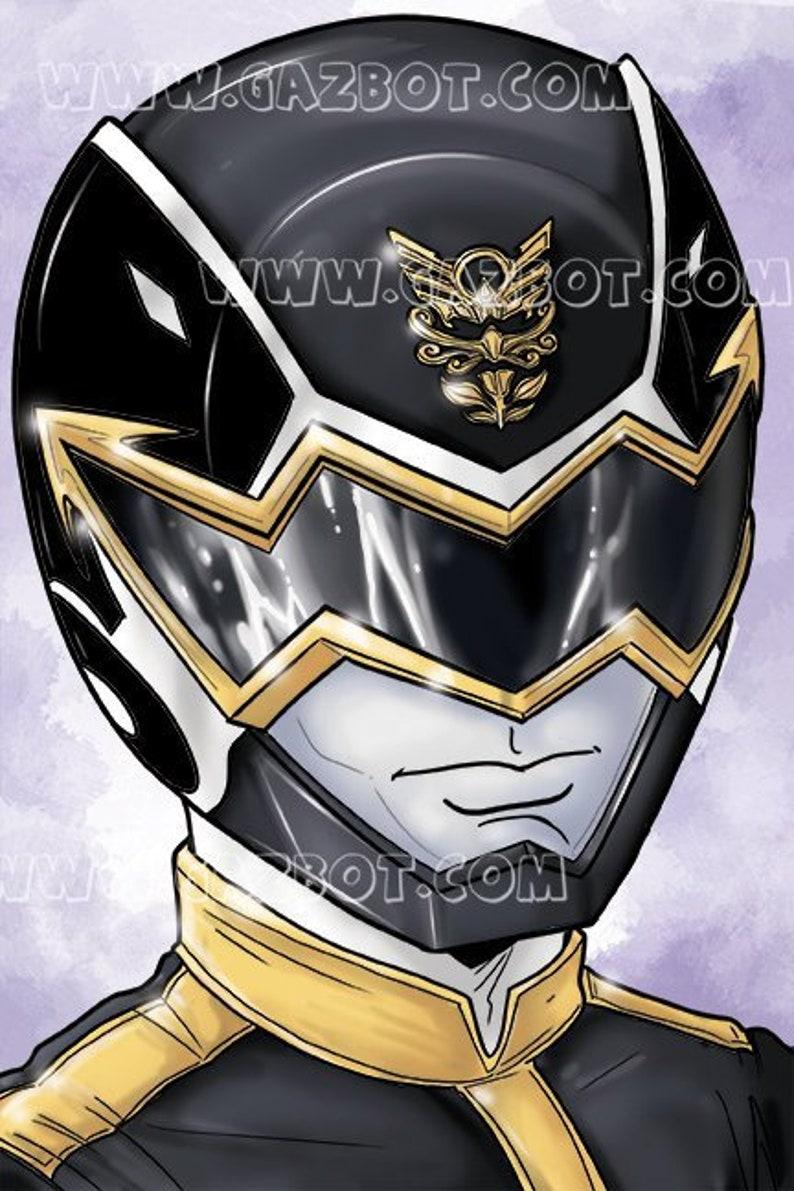 Power Rangers: Megaforce  Black Ranger image 1