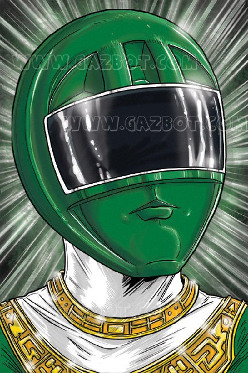 Power Rangers: Zeo Green Ranger image 0