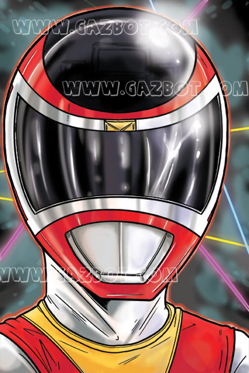 Power Rangers: In Space Red Ranger image 0