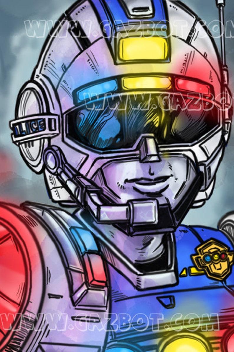 Power Rangers: Turbo  Blue Senturion image 1