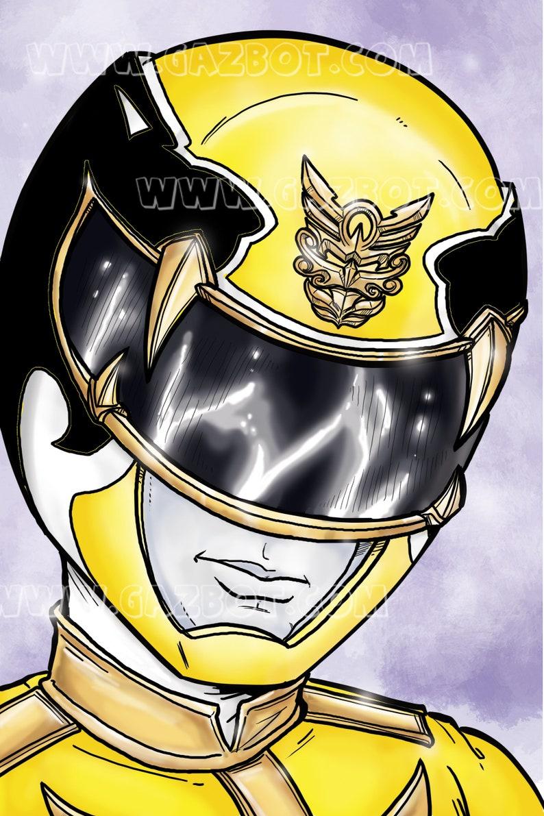 Power Rangers: Megaforce  Yellow Ranger image 1