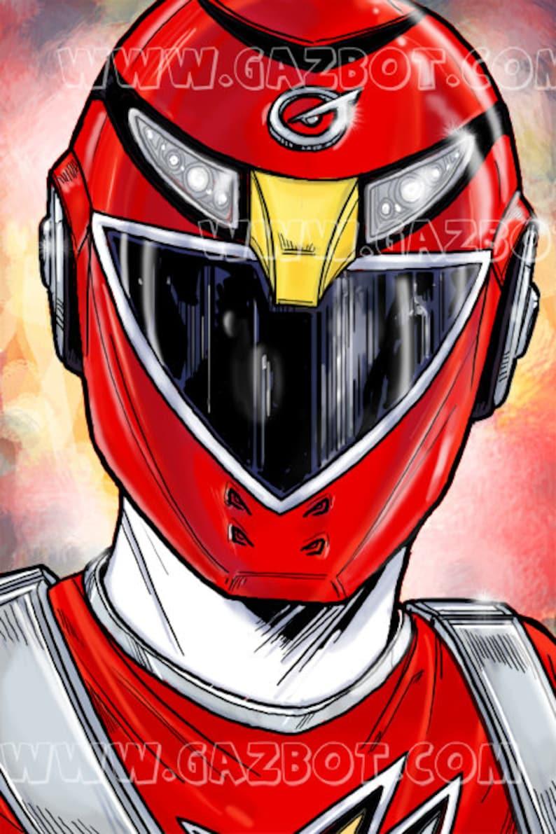 Power Rangers: RPM Red Ranger-Scott Truman image 1