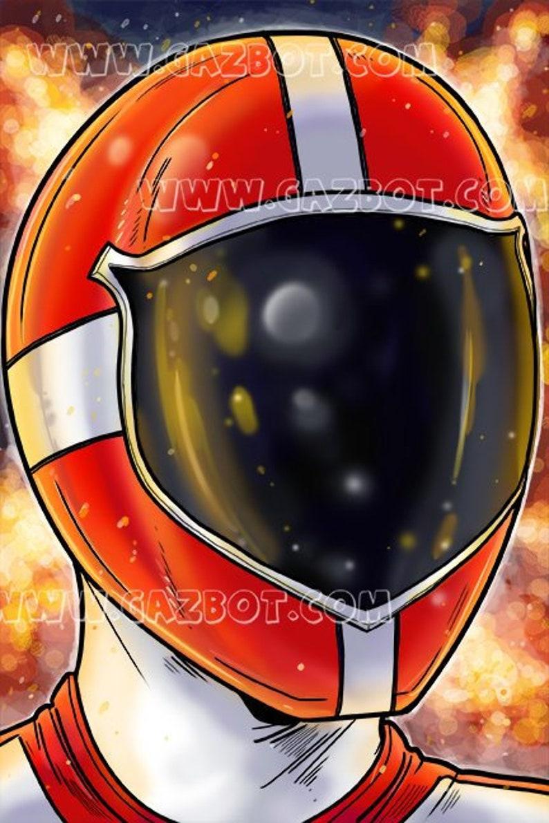 Power Rangers: Lightspeed Red Ranger image 0