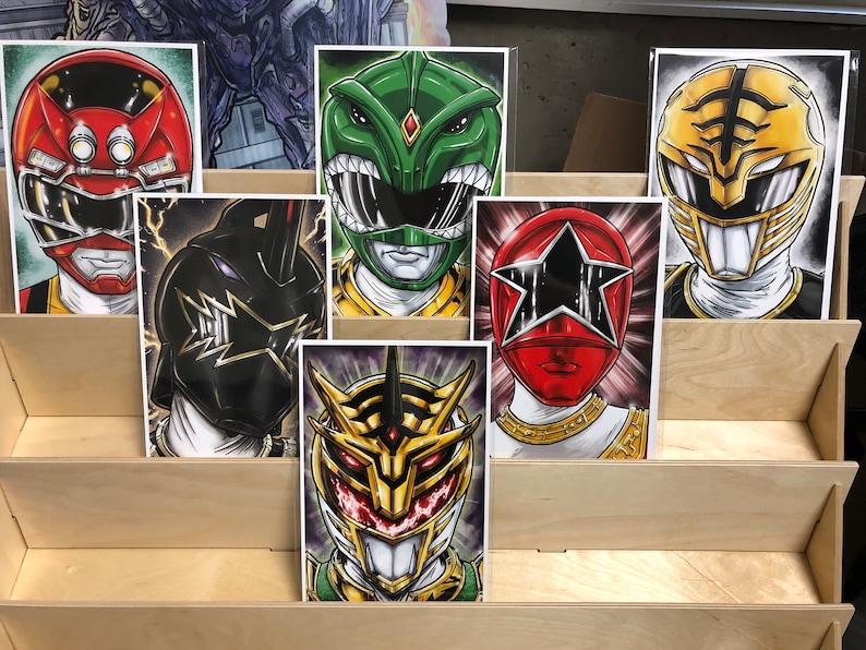 Power Rangers Tommy Oliver : set of 6 image 0