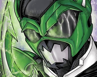Power Rangers: In Space- Psycho Green Ranger