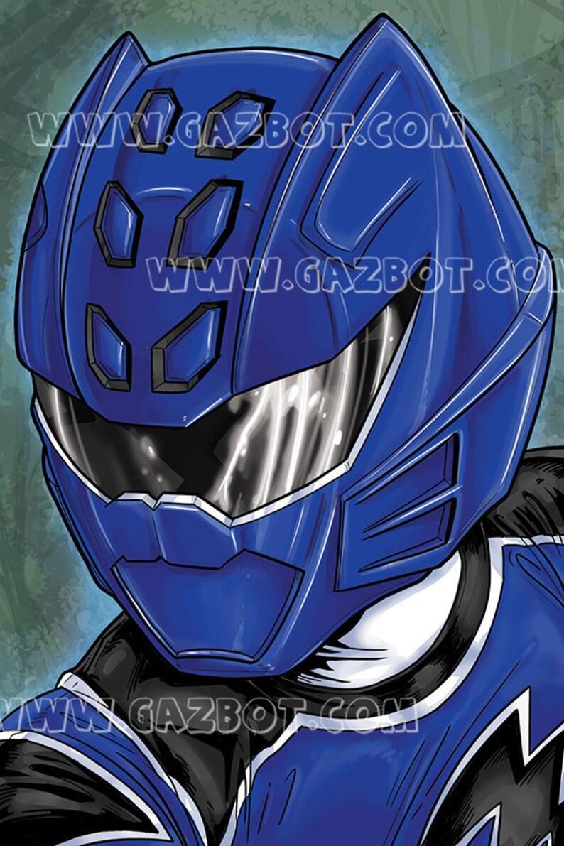 Power Rangers: Jungle Fury Blue Ranger image 0