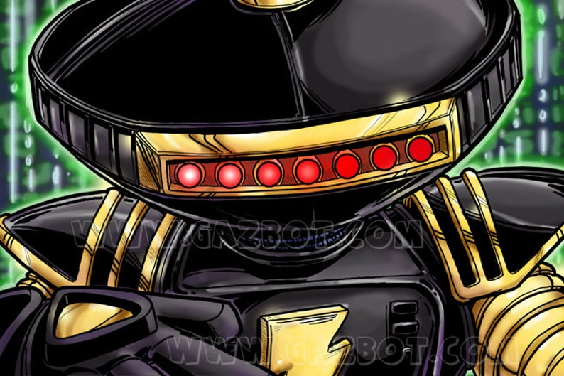 Power Rangers: Time force / Hyper force  Alpha 55 image 0