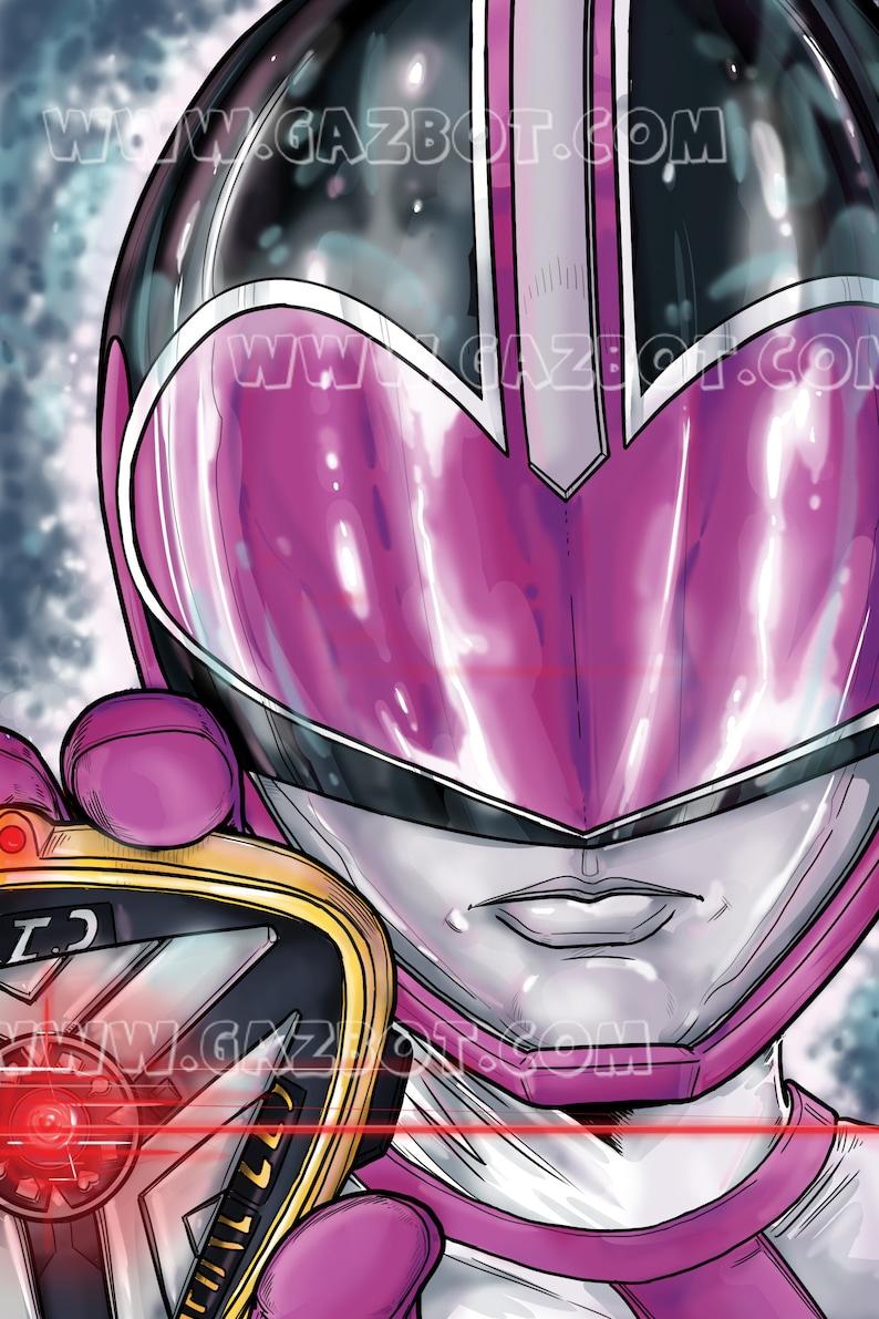 Power Rangers: Time Force  Pink Ranger image 1