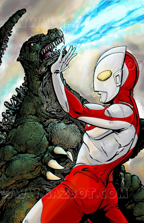 Ultraman vs Godzilla image 1