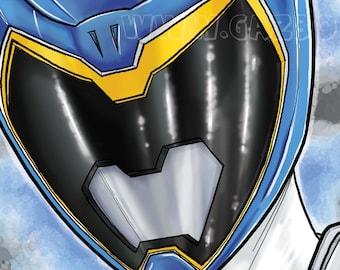 Power Rangers Dino Charge : Blue Ranger