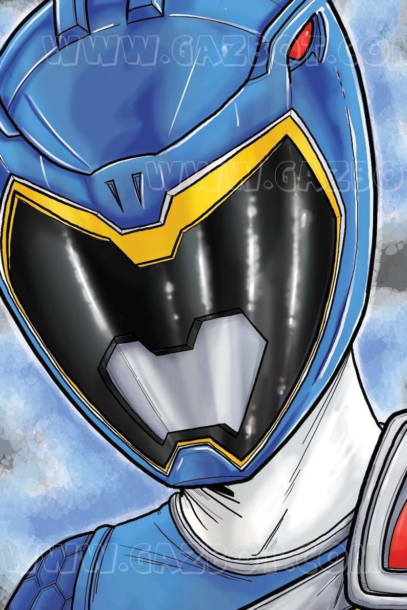 Power Rangers Dino Charge : Blue Ranger image 0