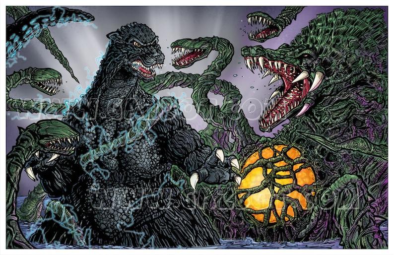 Biollante vs Godzilla image 1