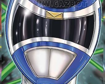 Power Rangers: In Space- Blue Ranger