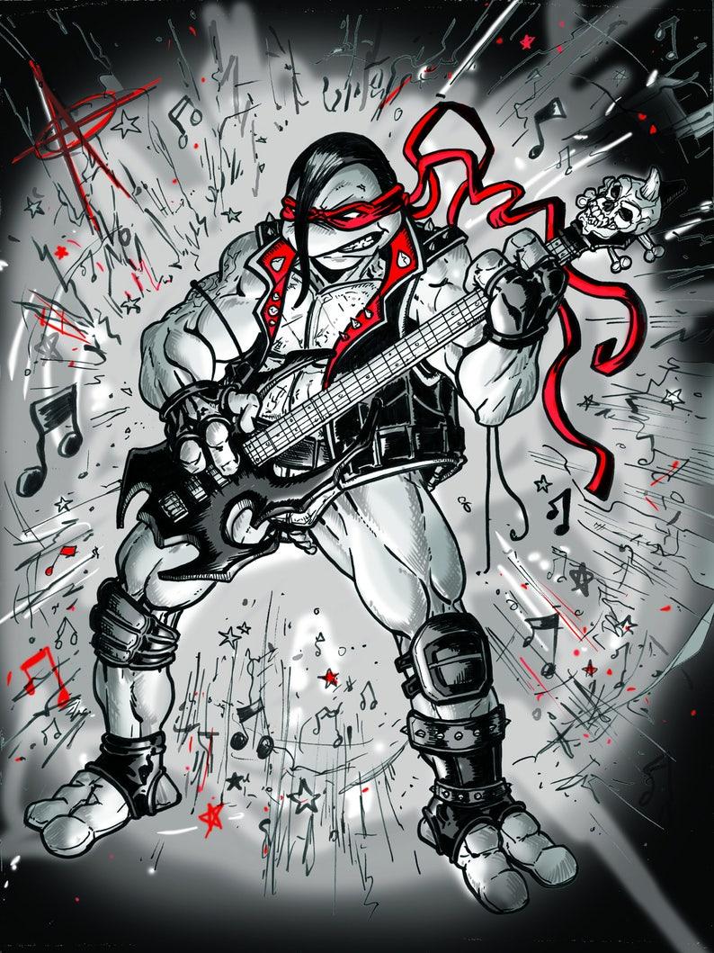 Misfit Raph NEW PRINTING image 1