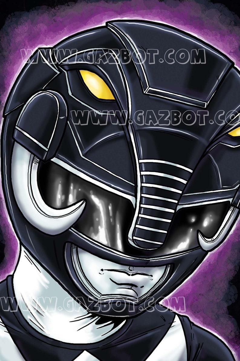 Power Rangers: MMPR  Black Ranger image 1