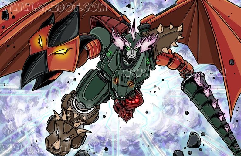Kaiju Megazord image 1