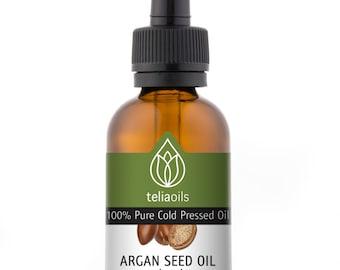 100 percent  Pure Organic Argan oil -Skin, Hair, Anti-aging 2oz / 60