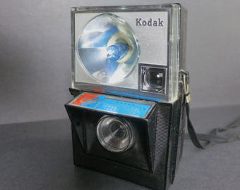 Kodak World's Fair Camera Vintage 1960s Plastic Flash Camera New York World's Fair