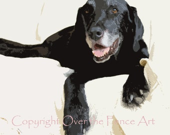 Dog Card Labrador Holiday Sets Of 5 Handcrafted Greeting Cards BLACK LABRADORS Series Fine Art And Photography