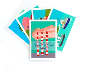 Halifax post card set,  Nova Scotia travel post cards, city small prints