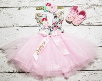 9726acafc Floral baby dress