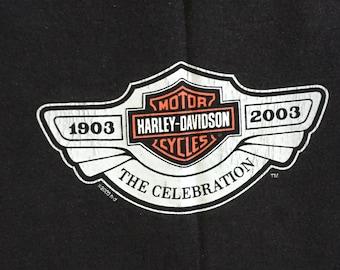 vintage Harley-Davidson 100th anniversary t-shirt Milwaukee 2003, XL