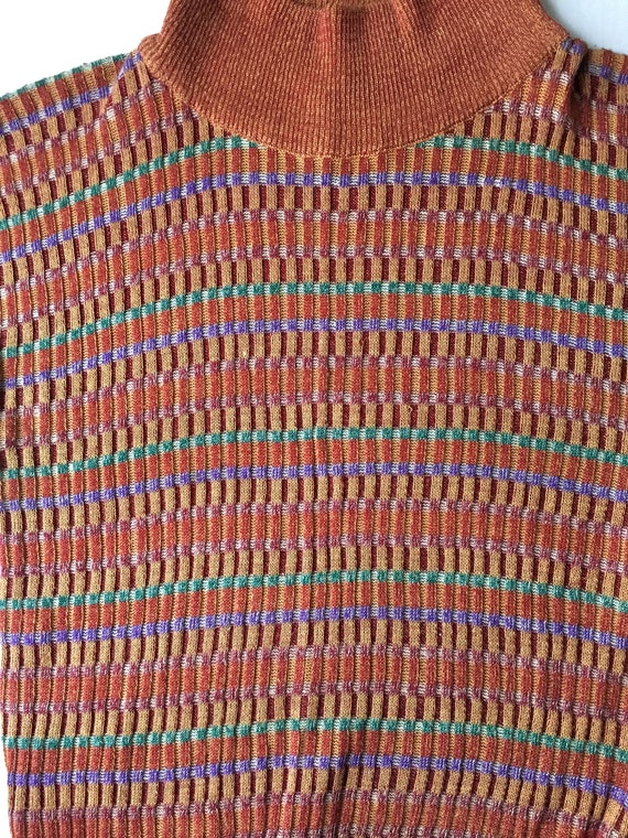 Kenzo short sleeve sweater, 1970's made in Italy.… - image 4